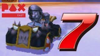 Mario Kart 7 PAX East Tournament Semi Finals - Local Multiplayer VS Races