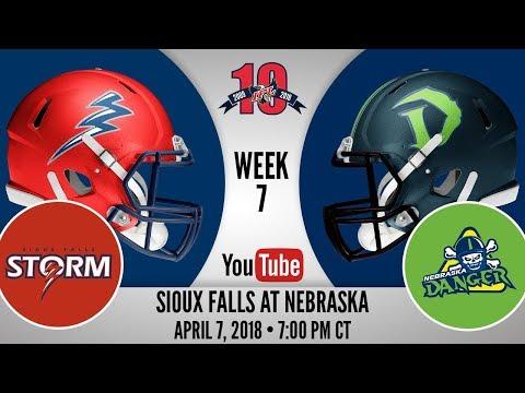 Week 7 | Sioux Falls Storm at Nebraska Danger