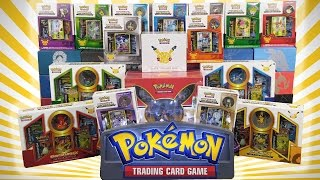 OPENING EVERY 20TH ANNIVERSARY POKEMON GENERATIONS BOX!! | TONS OF POKEMON CARDS!