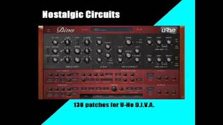 130 Presets, Patches For U-he Diva Vst Synth (funk, New Wave, 80s Pop, Rock, Etc)