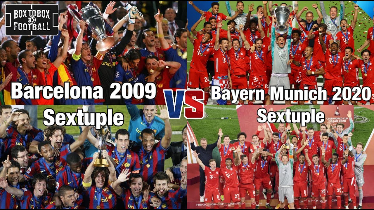 You can see guardiola's progress in the champions league with barcelona. Barcelona 2009 Vs Bayern Munich 2020 Combined Xl Comparing The Sextuple Winners Must Watch Youtube