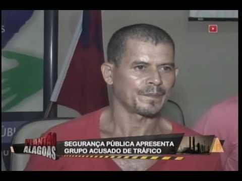 Segurança pública apresenta grupo acusado de tráfico
