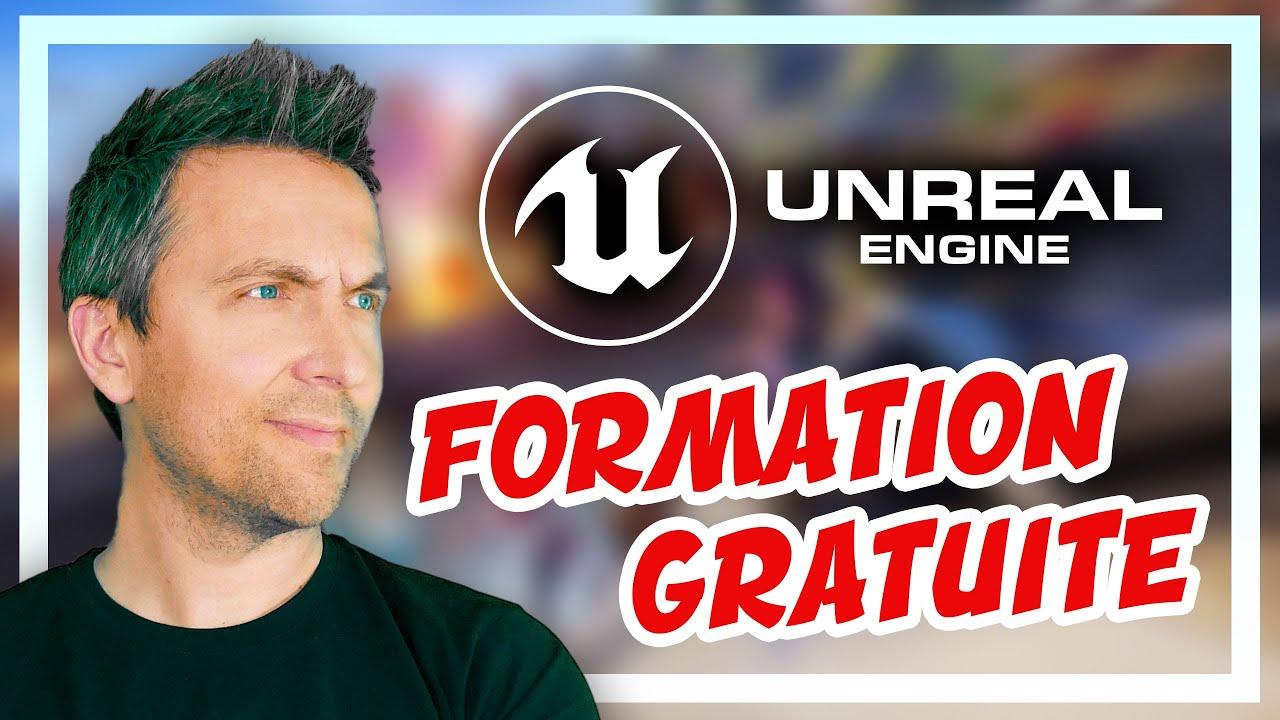 FORMATION GRATUITE UNREAL ENGINE : créer un jeu vidéo avec UE4