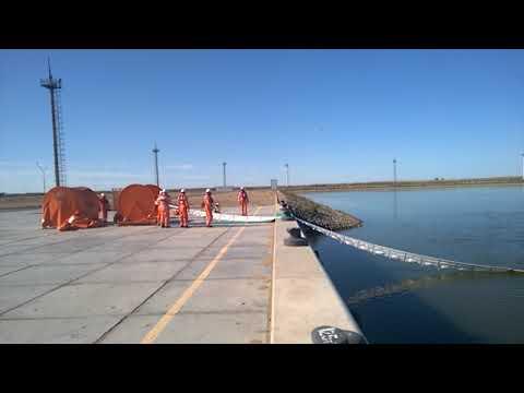 600 m DESMI A-BOOM deployment within 6 min