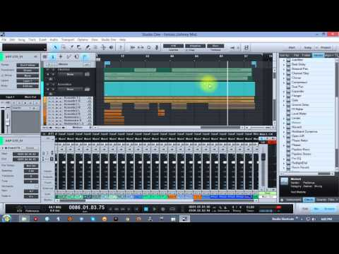 Studio One Mixing Video Series with David Vignola Part 1 – Track Prep