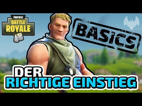 Der Einstieg ins Spiel - ♠ Fortnite Battle Royale Tutorial #001 ♠ - Deutsch German - Dhalucard