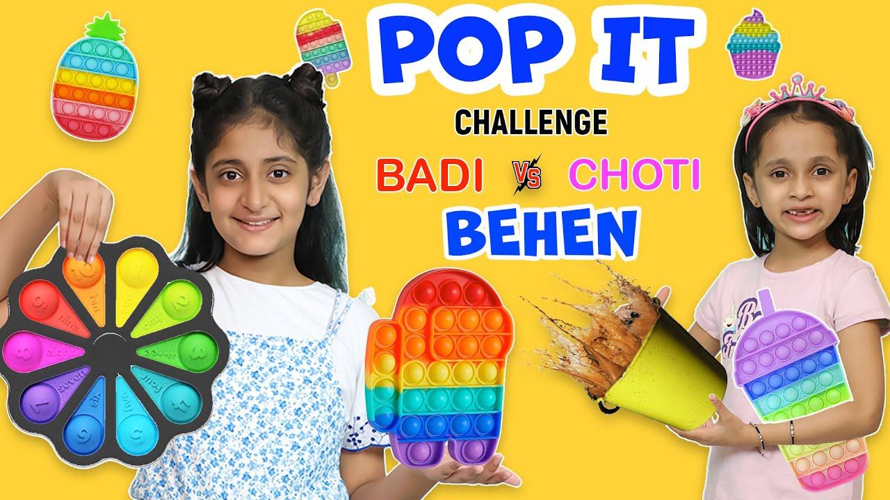 Download Pop It and Fidget Challenge | Choti vs Badi Behan | MyMissAnand