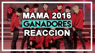 ganadores de los mama 2016   mama 2016 resea   mnet asian music awards 2016