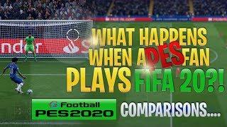 [TTB] What Happens When a PES Fan Plays FIFA 20?! - A Comparison to PES 2020