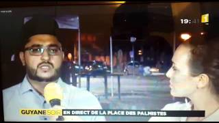 L'imam de l'association islamique ahmadiyya en Guyane condamne les attaques en france