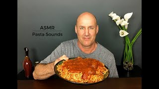 ASMR Eating Spaghetti and Meatballs~Extreme Pasta Sounds~Whisper Binaural Eats