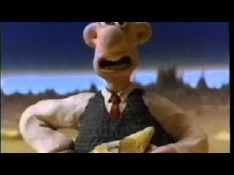 Wallace & Gromit (1993) Trailer (VHS Capture)