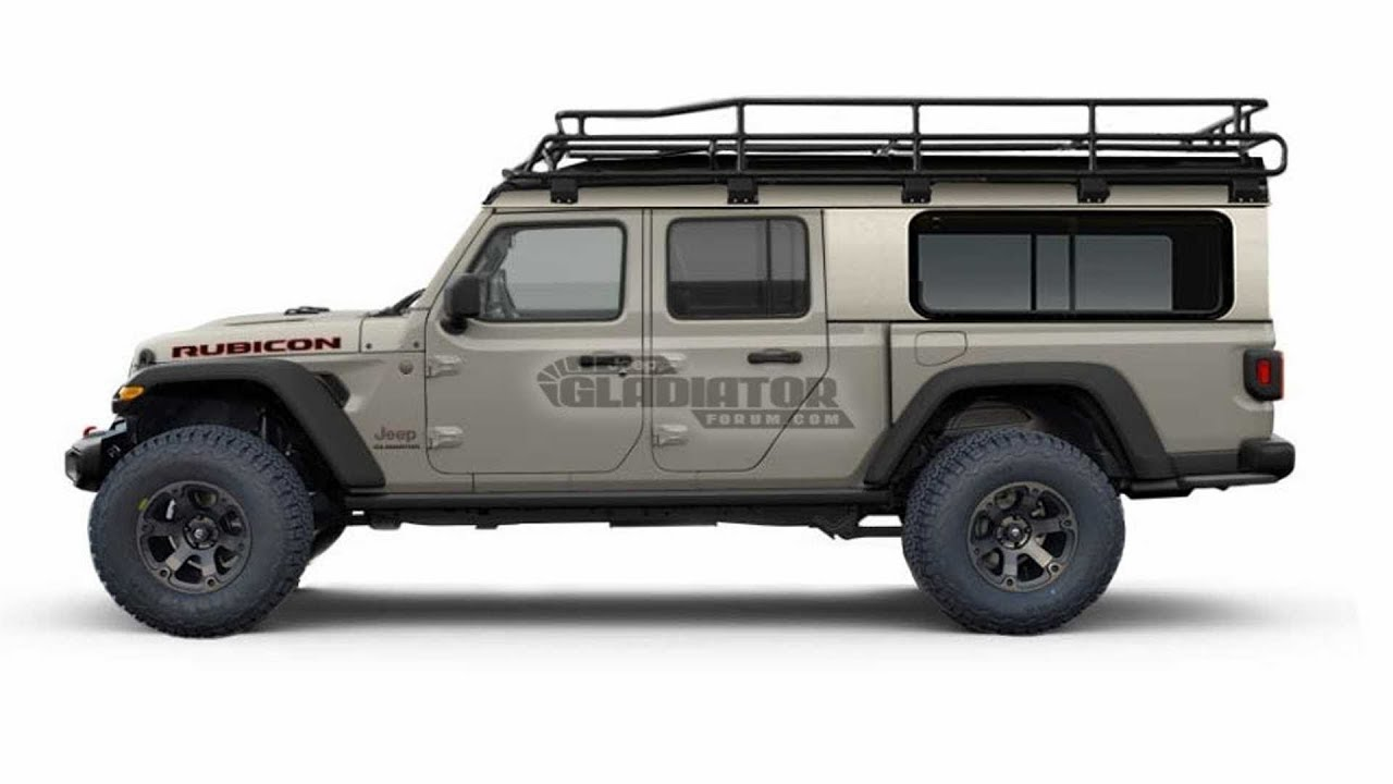 Hot News 2020 Jeep Gladiator Rendered With All Sorts Of