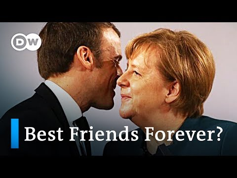 France and Germany battle rising nationalism by strengthening their alliance | DW News