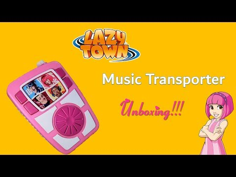 [UNBOXING] Rare LazyTown Music Transporter Unboxing (𝐒𝐭𝐞𝐟á𝐧 𝐂𝐮𝐫𝐞𝐝 𝐒𝐩𝐞𝐜𝐢𝐚𝐥 𝐕𝐢𝐝𝐞𝐨)