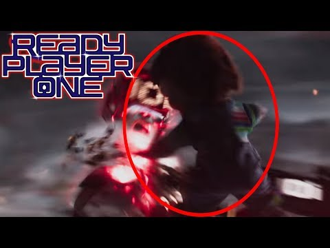 CHUCKY IS IN READY PLAYER ONE?!?!?!