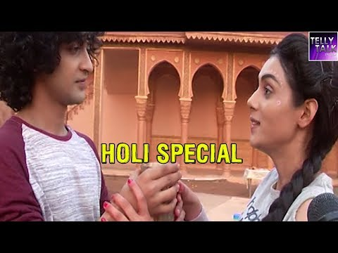 Radha Krishna's special recipe for making Thandai | Exclusive | Holi Special