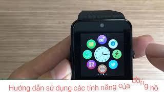 Hướng dẫn sử dụng smart watch GT08 / Видео
