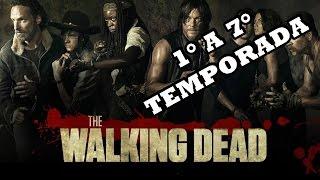 The Walking Dead:Onde assistir todos os episódios dublados||1°a 7° temporada