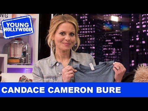 Candace Cameron Bure Runs Into An Old Full House Fling!