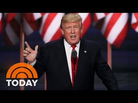 Donald Trump's Dark, Fiery RNC Speech: 'I Alone Can Fix' America | TODAY