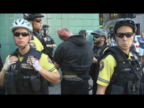 No Prisons Protest 9 9 16 Portland Oregon
