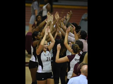 The UMES Fall Fling: N.C. Central vs. Manhattan  (Volleyball)