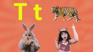Letter T 2021 | Alphabet Song for Kids (New) | Arissa & Bunny