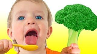 Sim Sim Vegetais - Canções Infantil   Katya e Dima