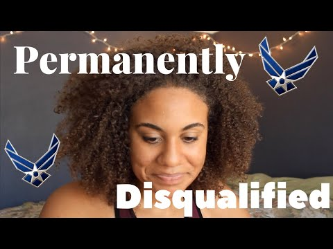 Permanently Disqualified From Air Force + Misdiagnosed + Whats Next