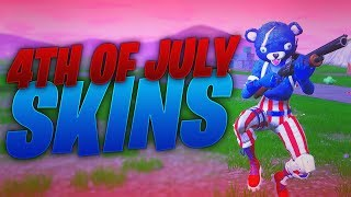 4TH OF JULY SKINS! Fortnite ITEM SHOP July 3, 2018! Daily Store Items!