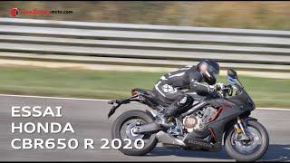 Essai Honda CBR650 R 2020 - Essai moto sur circuit avec envie2rouler