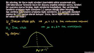 Hipotez Testi ve P Değerleri (İstatistik ve Olasılık)