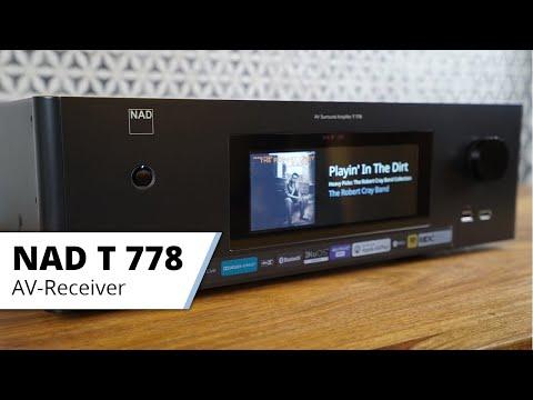 NAD T 778 - Modularer 9.2 Kanal AV-Receiver mit Bluesound Multiroom und Profi Einmessung