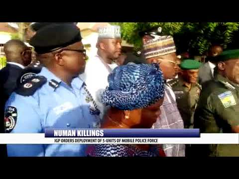 NUMAN KILLINGS: IGP ORDERS DEVELOPMENT OF 5-UNITS OF MOBILE POLICE FORCE