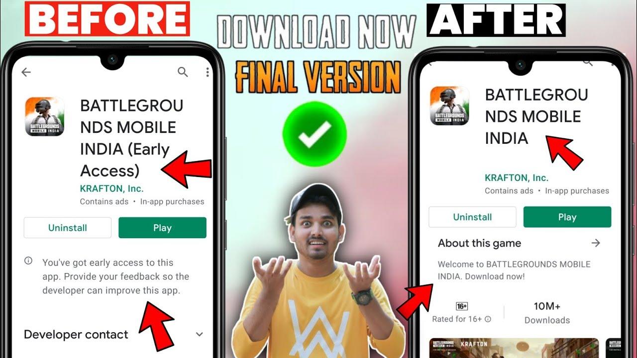 Download 😍 Real Final Version Battleground Mobile India | BGMI Latest Update |BGMI New Updates| BGMI