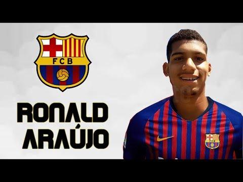 رونالد أراوجو - المطرقة - مرحبا بك في برشلونة - مدافع رائع || Ronald Araujo