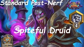 Hearthstone: Spiteful Druid #2: Boomsday (Projeto Cabum) - Standard Constructed Post Nerf