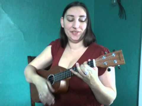 White Winter Hymnal (ukulele cover) -- Em Holbert
