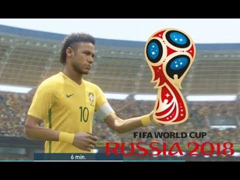 Neymar vs Suisse Coupe du Monde 2018 Russie #01 Match de Poule PES 18