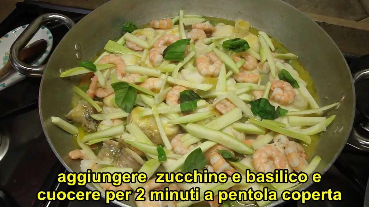 Ricette - Rana pescatrice con code di gamberi -- Recipes ...