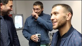 'I WANT JOSHUA, FURY & WILDER IN THE NEXT 12 MONTHS' - OLEKSANDR USYK / w/ EDDIE HEARN & LOMACHENKO