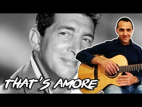 That's Amore - Dean Martin - Easy Guitar Lesson