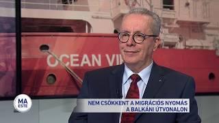 Nem csökkent a migrációs nyomás a balkáni útvonalon