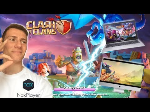 JOUER A CLASH OF CLANS SUR PC VIA NOXPLAYER