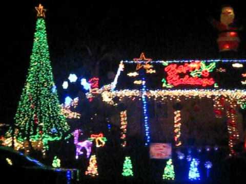 Main Street Electrical Parade Christmas Lights In La Mirada CA  - Christmas Lights In La