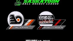 SBHL: Bridge City Massacre vs. Ball Slappers 1/18/15