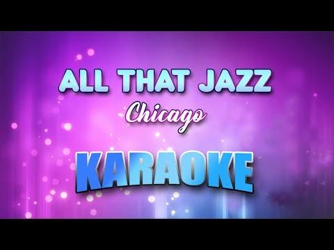 Chicago - All That Jazz (Karaoke version with Lyrics)