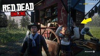 Где искать мадам Назар в Red Dead Online?!