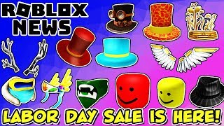 ROBLOX NEWS: Labor Day Sale for 2019 Has Begun + More New Leaked Fall Items